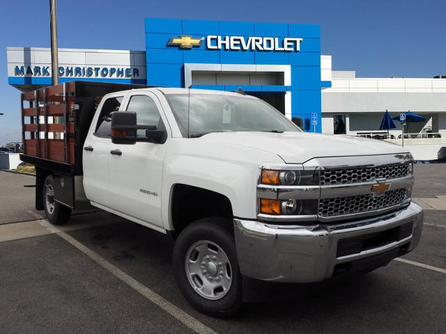2019 Silverado 2500 Double Cab 4x2, Harbor Black Boss Stake Bed #23991 - photo 1
