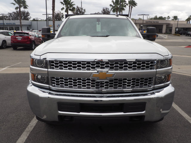 2019 Silverado 2500 Double Cab 4x2, Harbor Black Boss Stake Bed #23991 - photo 3