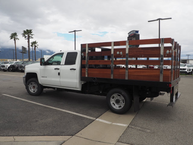 2019 Silverado 2500 Double Cab 4x2, Harbor Black Boss Stake Bed #23991 - photo 9