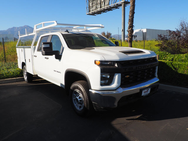 2020 Silverado 2500 Crew Cab 4x2, Harbor Service Body #24017 - photo 1
