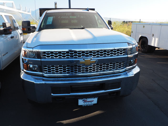2019 Silverado 2500 Double Cab 4x2, Harbor Black Boss Stake Bed #24025 - photo 10