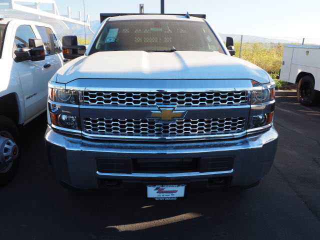 2019 Silverado 2500 Double Cab 4x2, Harbor Black Boss Stake Bed #24025 - photo 3