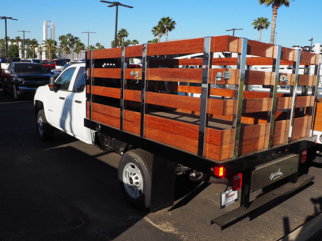 2019 Chevrolet Silverado 2500 Double Cab 4x2, Harbor Black Boss Stake Bed #24025 - photo 2