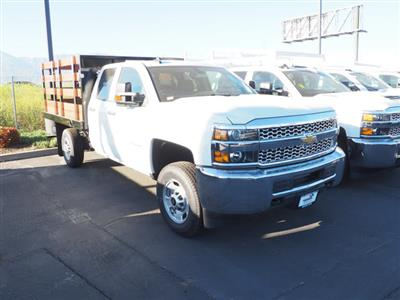 2019 Silverado 2500 Double Cab 4x2, Harbor Black Boss Stake Bed #24025 - photo 1