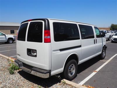 2020 Chevrolet Express 3500 4x2, Passenger Wagon #24027 - photo 2