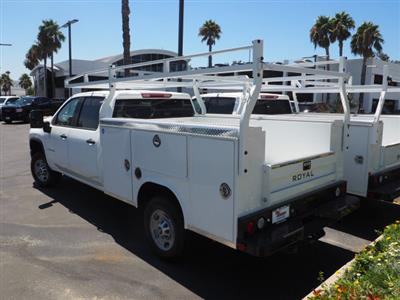 2020 Chevrolet Silverado 2500 Crew Cab 4x2, Royal Service Body #24037 - photo 2
