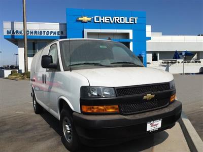 2020 Chevrolet Express 2500 4x2, Adrian Steel Upfitted Cargo Van #24052 - photo 1