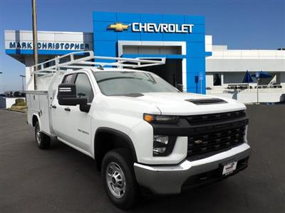 2020 Chevrolet Silverado 2500 Double Cab 4x2, Royal Service Body #24101 - photo 1
