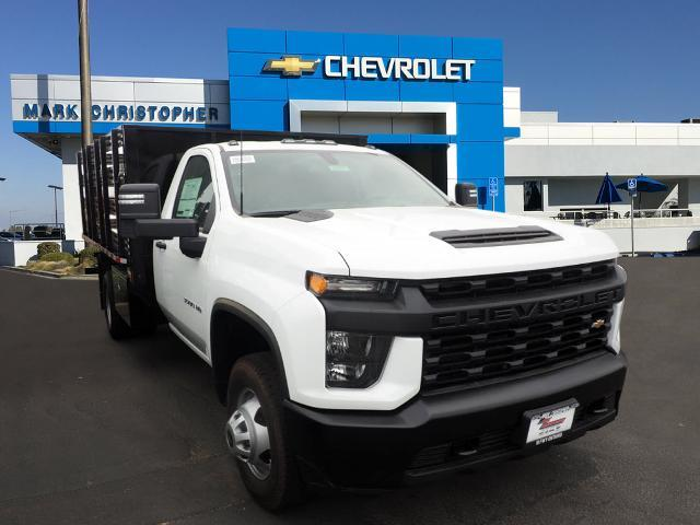 2020 Chevrolet Silverado 3500 Regular Cab DRW 4x2, Morgan Stake Bed #24107 - photo 1