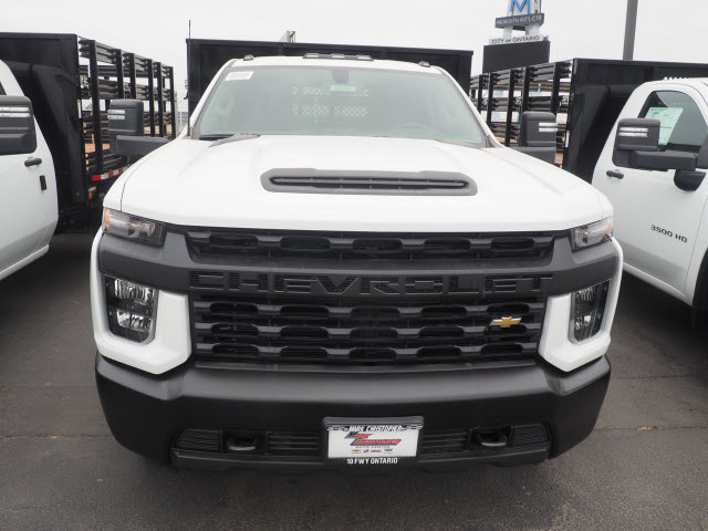 2020 Chevrolet Silverado 3500 Regular Cab DRW 4x2, Morgan Stake Bed #24107 - photo 3