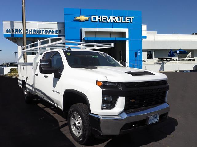 2021 Chevrolet Silverado 2500 Double Cab 4x2, Royal Truck Body Service Body #24279 - photo 1
