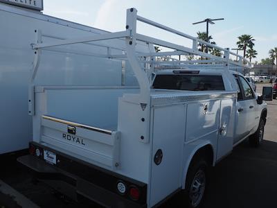 2021 Chevrolet Silverado 2500 Double Cab 4x2, Royal Truck Body Service Body #24284 - photo 2