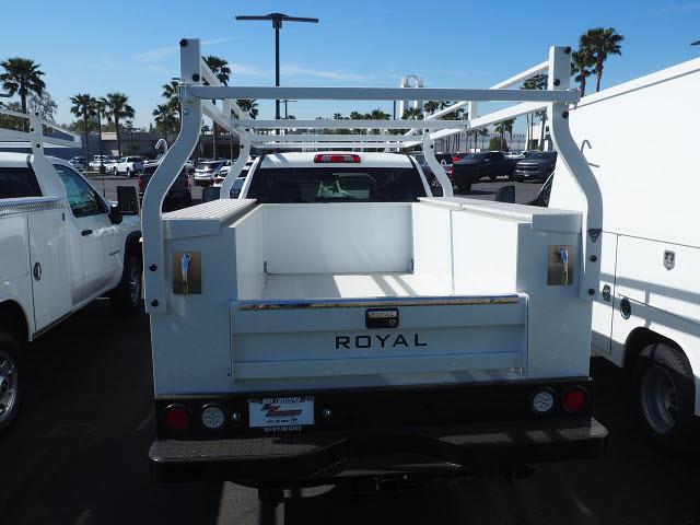 2021 Chevrolet Silverado 2500 Regular Cab 4x2, Royal Truck Body Service Body #24285 - photo 7