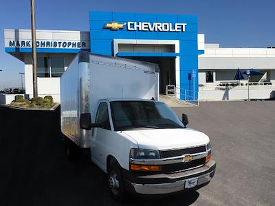 2021 Chevrolet Express 3500 4x2, Morgan Parcel Aluminum Cutaway Van #24289 - photo 1