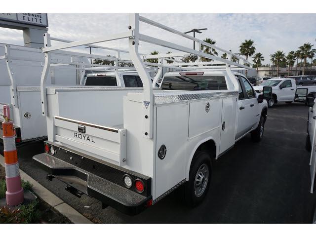 2021 Chevrolet Silverado 2500 Double Cab 4x2, Royal Truck Body Service Body #24295 - photo 1