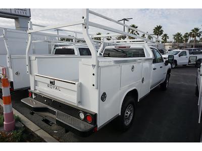 2021 Chevrolet Silverado 2500 Double Cab 4x2, Royal Truck Body Service Body #24295 - photo 2