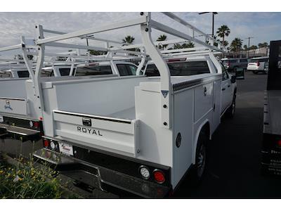 2021 Chevrolet Silverado 2500 Double Cab 4x2, Royal Truck Body Service Body #24307 - photo 2