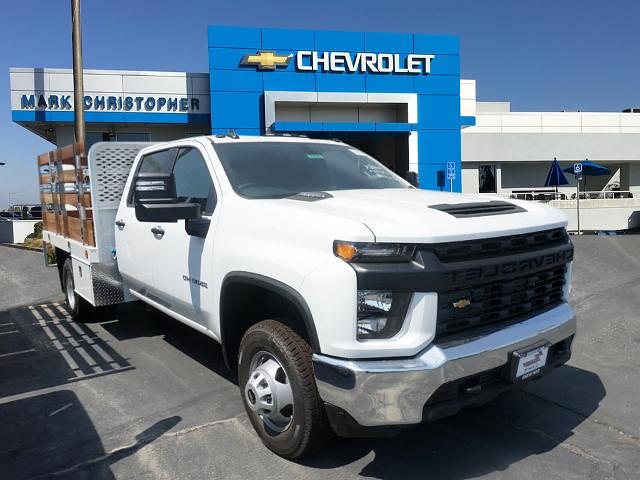 2021 Chevrolet Silverado 3500 Crew Cab 4x2, Scelzi Stake Bed #24321 - photo 1
