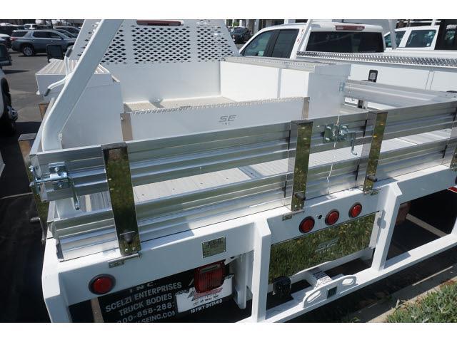 2021 Chevrolet Silverado 3500 Crew Cab 4x2, Scelzi CTFB Contractor Body #24328 - photo 9