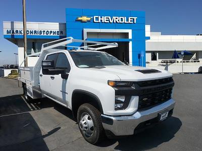 2021 Chevrolet Silverado 3500 Crew Cab 4x2, Scelzi CTFB Contractor Body #24328 - photo 1