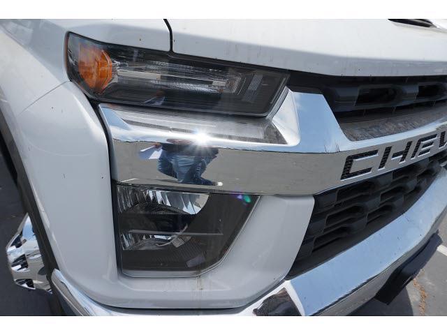 2021 Silverado 3500 Regular Cab 4x2,  Morgan Truck Body Stake Bed #24358 - photo 4
