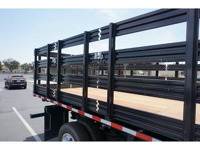 2021 Silverado 3500 Regular Cab 4x2,  Morgan Truck Body Stake Bed #24358 - photo 9
