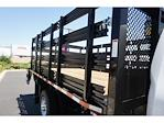 2021 Silverado 3500 Regular Cab 4x2,  Morgan Truck Body Stake Bed #24363 - photo 8