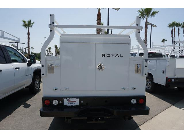 2021 Silverado 2500 Double Cab 4x2,  Royal Truck Body Service Body #24366 - photo 8