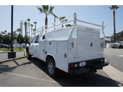 2021 Silverado 2500 Double Cab 4x2,  Royal Truck Body Service Body #24372 - photo 11