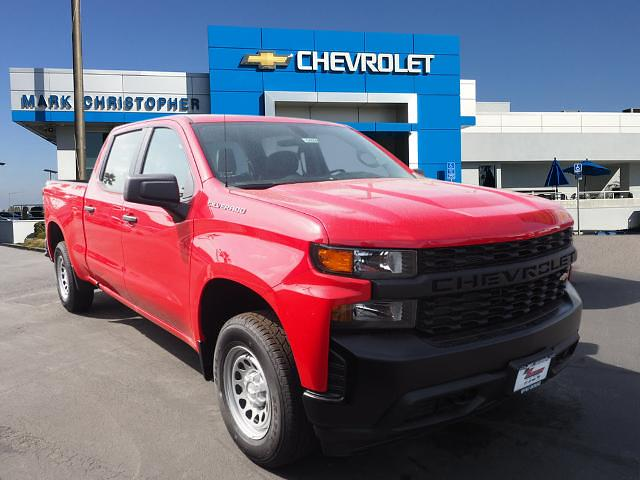 2021 Chevrolet Silverado 1500 Crew Cab 4x4, Pickup #64608 - photo 1