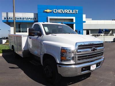 2019 Chevrolet Silverado 4500, Harbor Service Body
