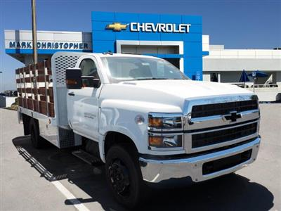 2020 Chevrolet Silverado 5500 Regular Cab DRW 4x2, Scelzi Stake Bed #90004 - photo 1