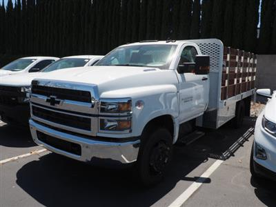 2020 Chevrolet Silverado 5500 Regular Cab DRW 4x2, Scelzi Stake Bed #90004 - photo 11