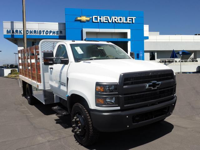 2020 Chevrolet Silverado 4500 Regular Cab DRW 4x2, Scelzi Stake Bed #90005 - photo 1