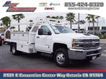 2017 Silverado 3500 Regular Cab DRW 4x2,  Royal Contractor Body #9510 - photo 1