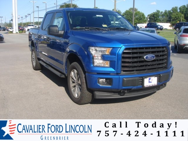 2017 F-150 Crew Cab 4x4 Pickup #D7812 - photo 1