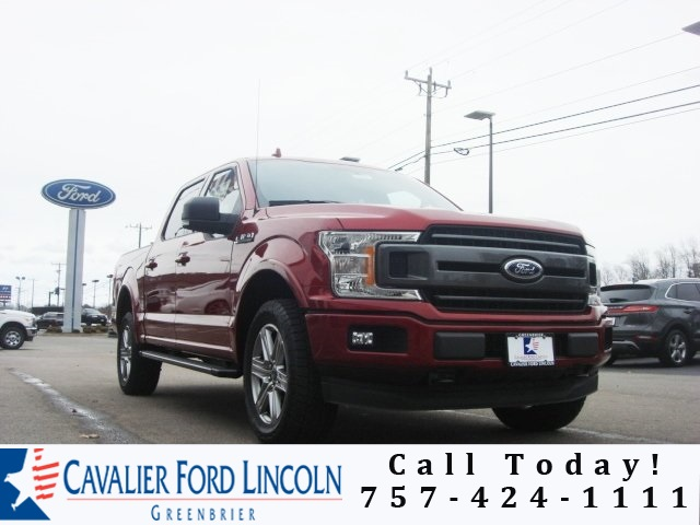 2018 F-150 Crew Cab 4x4, Pickup #D8514 - photo 1