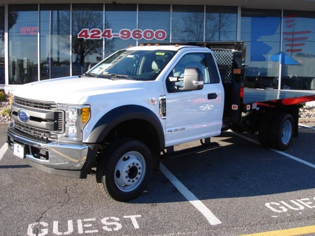 2017 F-550 Regular Cab DRW, Knapheide Platform Body #G77174 - photo 5