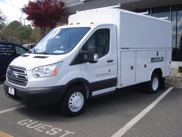 2017 Transit 350 HD Low Roof DRW, Reading Service Utility Van #G77575 - photo 5