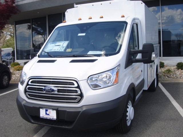 2017 Transit 350 HD Low Roof DRW, Reading Service Utility Van #G77575 - photo 6