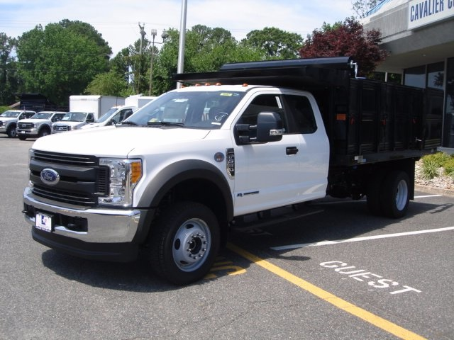 2017 F-550 Super Cab DRW 4x4, Landscape Dump #G77830 - photo 5