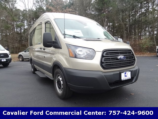 2018 Transit 350 Med Roof, Passenger Wagon #G88361 - photo 1