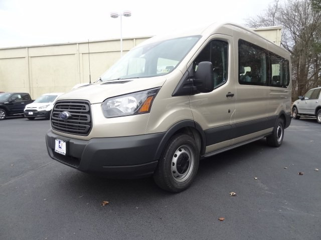 2018 Transit 350 Med Roof, Passenger Wagon #G88361 - photo 8