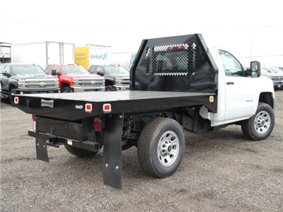 2017 Silverado 3500 Regular Cab 4x4, Knapheide Value-Master X Platform Body #175880 - photo 2