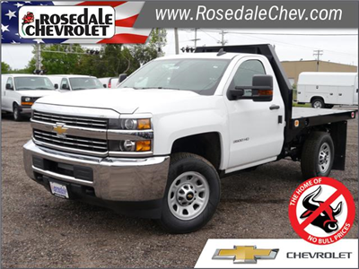 2017 Silverado 3500 Regular Cab 4x4, Knapheide Value-Master X Platform Body #175880 - photo 1