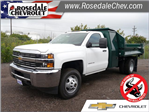 2017 Silverado 3500 Regular Cab DRW 4x4,  Knapheide Drop Side Dump Body #176105 - photo 1