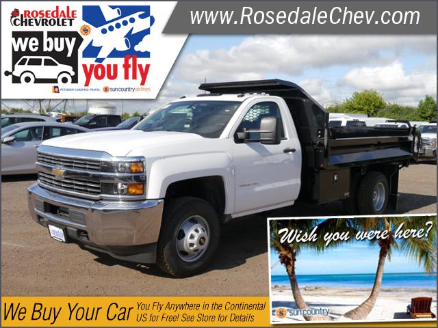 2017 Silverado 3500 Regular Cab DRW 4x4, Knapheide Drop Side Dump Bodies Dump Body #176126 - photo 1