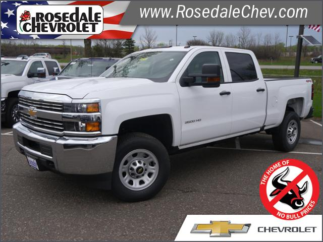 2018 Silverado 3500 Crew Cab 4x4,  Pickup #185495 - photo 1