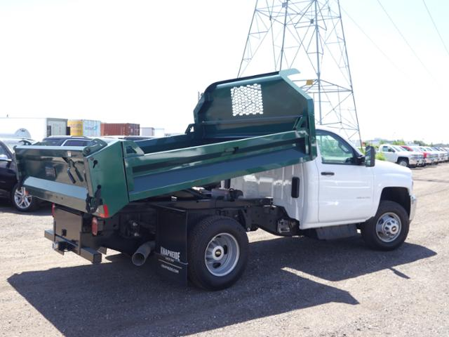 2018 Silverado 3500 Regular Cab DRW 4x4,  Knapheide Drop Side Dump Body #185533 - photo 2