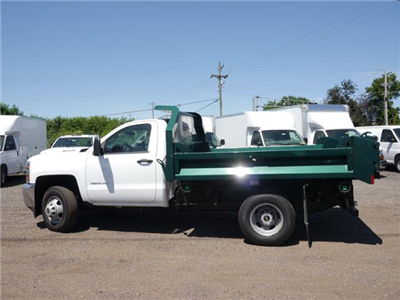 2018 Silverado 3500 Regular Cab DRW 4x4,  Knapheide Drop Side Dump Body #185533 - photo 4